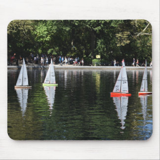 Conservatory Water Central Park Boat Pond New York Mouse Pad