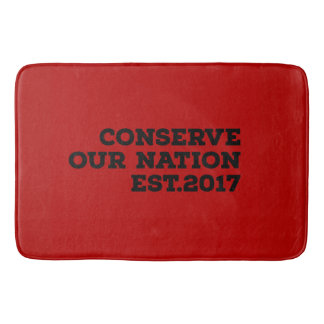 Conserve Our Nation Bath Mat