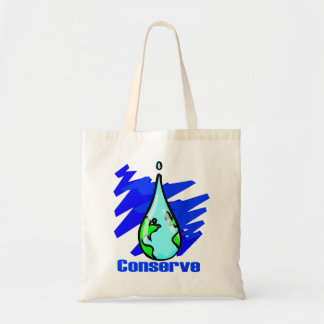 Conserve Water Tote Bags