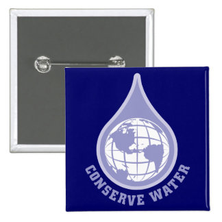 Conserve Water Pins