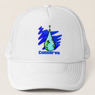 Conserve Water Trucker Hat