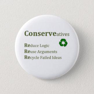 Conserveatives 2 Inch Round Button