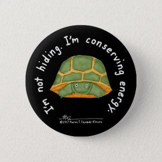 Conserving Energy Black Button