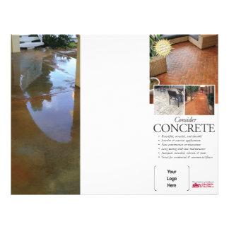 Consider Concrete Brochure for Solomon Flyer