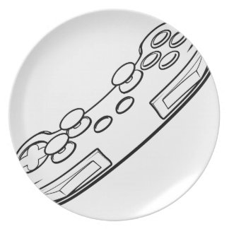 Console Video Games Controller Plate