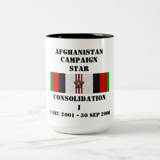 Consolidation I / CAMPAIGN STAR Two-Tone Coffee Mug