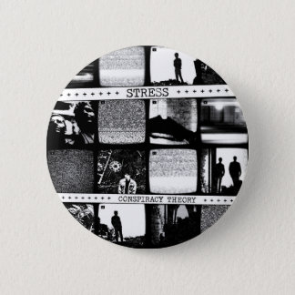 Conspiracy Theory LP 2 Inch Round Button
