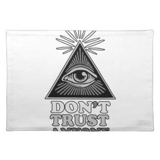 Conspiracy theory placemat