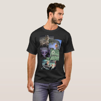 Conspiracy Theory Shirt/ alien T-Shirt