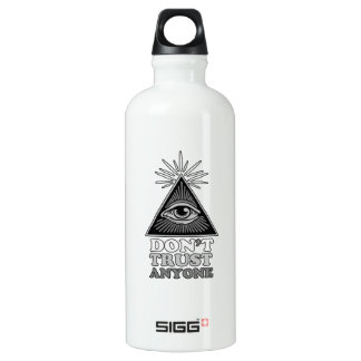 Conspiracy theory water bottle