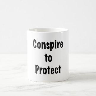 Conspire to Protect Coffee Mug