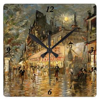 Constantin Korovin: Cafe La Marine, Paris Clocks