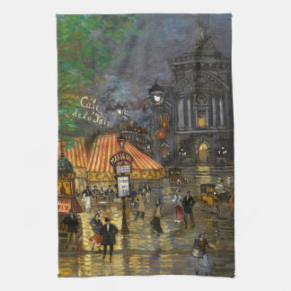 Constantin Korovin: Grand Opera, Paris Kitchen Towel