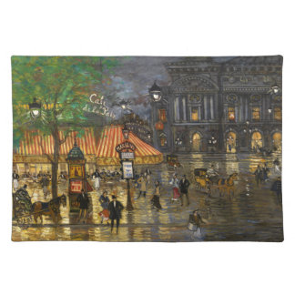 Constantin Korovin: Grand Opera, Paris Placemat