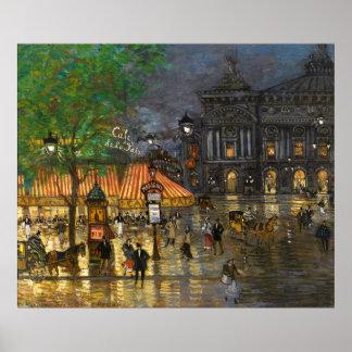 Constantin Korovin: Grand Opera, Paris Poster