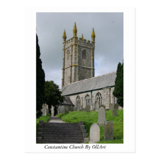 Constantine, Cornwall  By OllyArt Photography Postcard