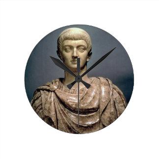 Constantine I (c.274-337) c.350 AD (marble) Wall Clocks