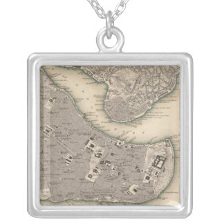 Constantinople Stambool Silver Plated Necklace
