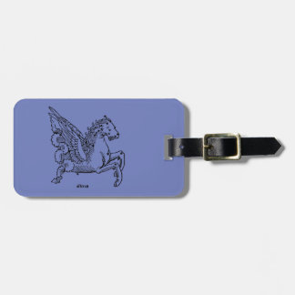 Constellaion: Pegasus Luggage Tag