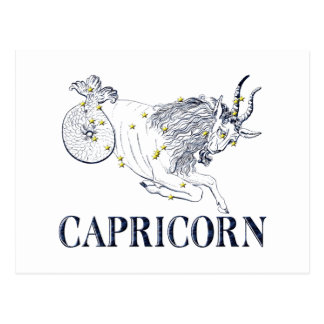 Constellation: Capricorn Postcard