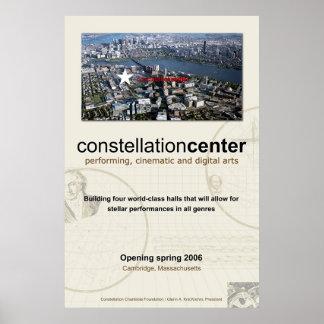 constellation center 001 poster