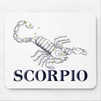 Constellation: Scorpio Mouse Pad