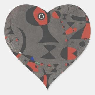 Constellation Toward the Rainbow Heart Sticker