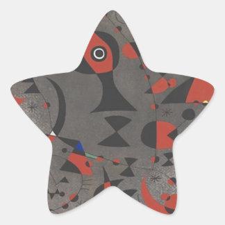 Constellation Toward the Rainbow Star Sticker