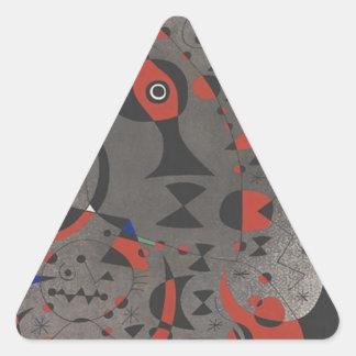 Constellation Toward the Rainbow Triangle Sticker
