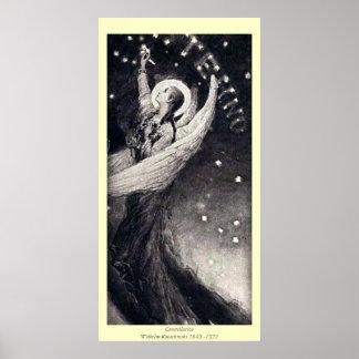 Constellation - Wilhelm Kotarbinski Poster