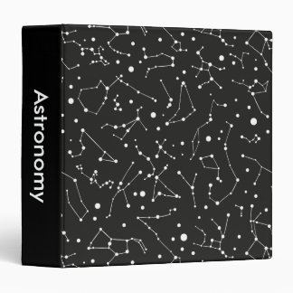 Constellations White and Black Binders