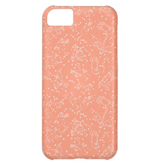 Constellations Zodiac / Peach/Blush /Andrea Lauren iPhone 5C Cover