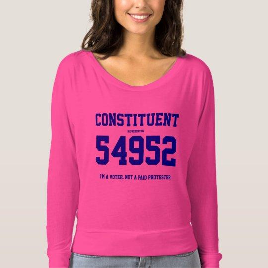 Constituent Ladies Tee w/ Your Zip Code