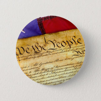Constitution 4th Of July July 4th Independence 2 Inch Round Button