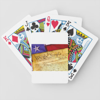 Constitution 4th Of July July 4th Independence Bicycle Playing Cards
