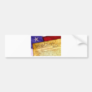 Constitution 4th Of July July 4th Independence Bumper Sticker
