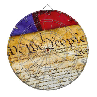 Constitution 4th Of July July 4th Independence Dartboard