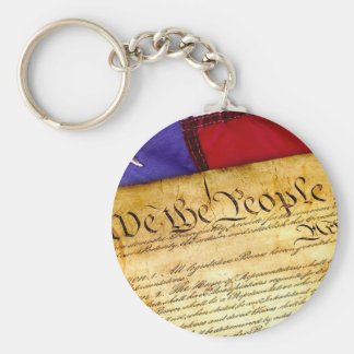 Constitution 4th Of July July 4th Independence Keychain