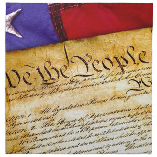 Constitution 4th Of July July 4th Independence Napkin