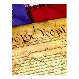 Constitution 4th Of July July 4th Independence Postcard