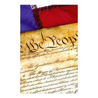 Constitution 4th Of July July 4th Independence Stationery