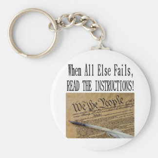 Constitution awareness Our Constitution Keychain