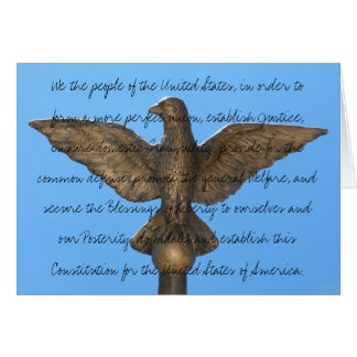 Constitution Card for Use All Year Round