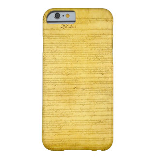 Constitution iPhone 6 case Barely There iPhone 6 Case