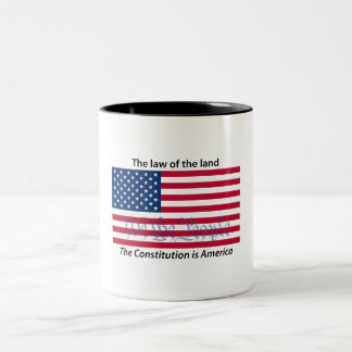 Constitution, Law of the Land 1 mug