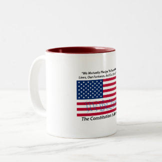 Constitution Pledge 1 mug