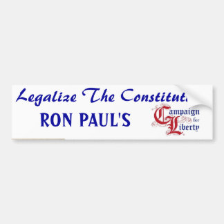 constitution_quill_pen, y63rs, Leg... - Customized Bumper Sticker