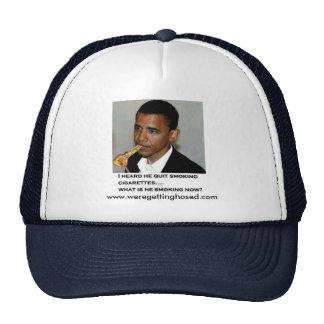 Constitution Smoking Obama Trucker Hat