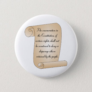 Constitutional Amendment 9 2 Inch Round Button