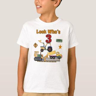 Construction 3rd Birthday T-Shirt